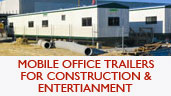 Mobile Office Trailers for Construcitoin & Entertainment